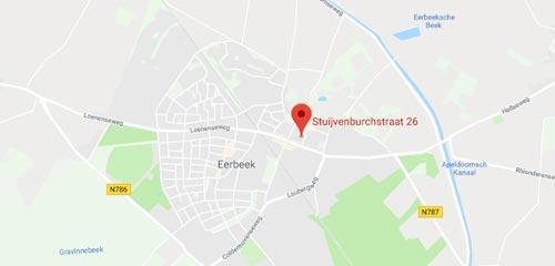 Autobedrijf Wim Mulder - Route